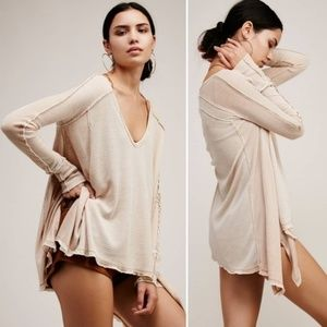 Free People Pacific Thermal Top Size Large